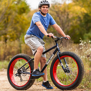 "Mongoose Dolomite 26"" Fat Tire Bike"