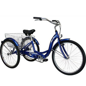 Schwinn Meridian Single Speed Adult Tricycle