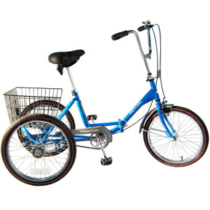 Worksman Port-o-Trike Adult Tricycle