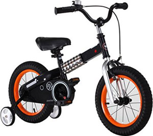 RoyalBaby Button Kids' bicycle with Training Wheels