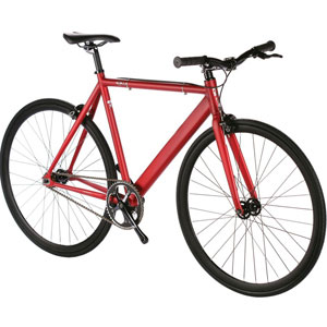 6KU Aluminum Single-Speed Fixed Gear Urban Track Bike